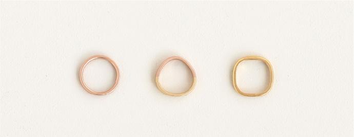 指輪のカタチ